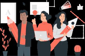 Graphic design PromoBox service