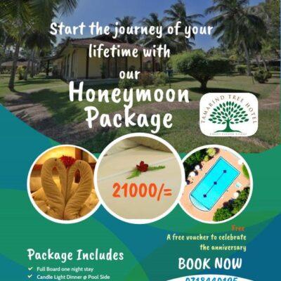 Honeymoon Package - Tamarind Tree Hotel